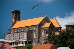 Catedral más ave marina Imagenes de archivo