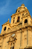 Catedral magnífica de Múrcia Fotografia de Stock Royalty Free