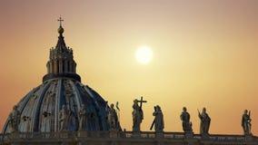 A catedral magn?fica de St Peter no Vaticano filme