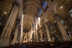 Catedral Manhattan do ` s de St Patrick Foto de Stock
