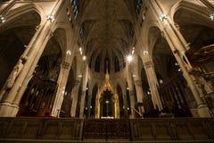 Catedral Manhattan do ` s de St Patrick Imagens de Stock Royalty Free
