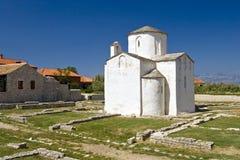 A catedral a menor no mundo, igreja do Imagem de Stock