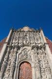 Catedral metropolitana, Ciudad de México Foto de archivo
