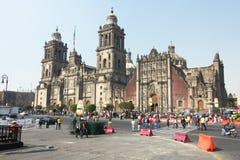 Catedral metropolitana, con el tabernáculo metropolitano a la derecha imágenes de archivo libres de regalías