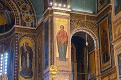 Catedral metropolitana de Atenas fotografía de archivo