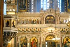 Catedral metropolitana de Atenas imagen de archivo libre de regalías