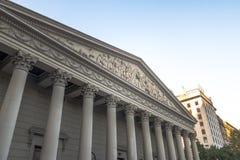 Catedral metropolitana de Buenos Aires - Buenos Aires, la Argentina imagen de archivo
