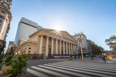 Catedral metropolitana de Buenos Aires - Buenos Aires, la Argentina foto de archivo