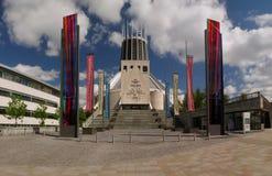 Catedral metropolitana de Cristo el rey Liverpool Merseyside Fotos de archivo libres de regalías