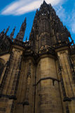 Catedral metropolitana de los santos Vitus Wenceslaus y Adalber fotografía de archivo libre de regalías