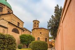 Catedral metropolitana de Ravena imagen de archivo
