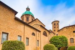 Catedral metropolitana de Ravena imágenes de archivo libres de regalías