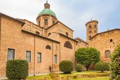 Catedral metropolitana de Ravena fotos de archivo