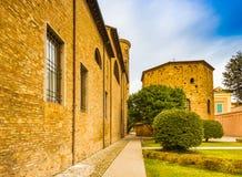 Catedral metropolitana de Ravena fotos de archivo libres de regalías