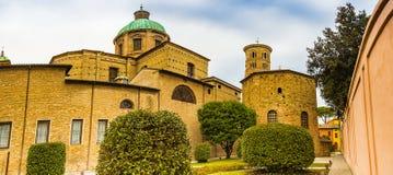 Catedral metropolitana de Ravena foto de archivo libre de regalías