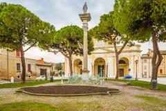 Catedral metropolitana de Ravena imagenes de archivo