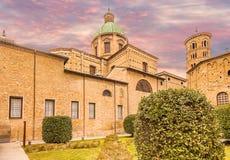 Catedral metropolitana de Ravena fotografía de archivo