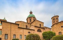 Catedral metropolitana de Ravena fotografía de archivo libre de regalías