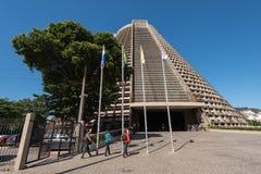 Catedral metropolitana de Rio de janeiro Fotografia de Stock Royalty Free