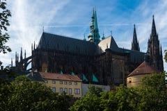 Catedral metropolitana de Saint Vitus Fotos de Stock