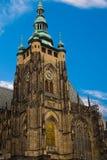 Catedral metropolitana de Saint Vitus Wenceslaus e Adalbert r Imagens de Stock