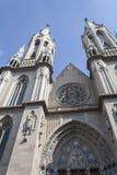 Catedral Metropolitana de Sao Paulo. Front view Stock Photography