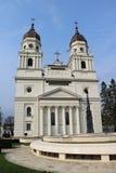 Catedral metropolitana em Iasi, Romênia imagem de stock