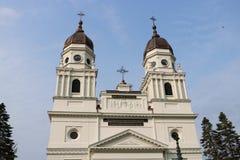 Catedral metropolitana em Iasi, Romênia foto de stock royalty free