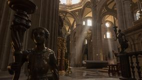 Catedral metropolitana em Zocalo, México Fotos de Stock Royalty Free