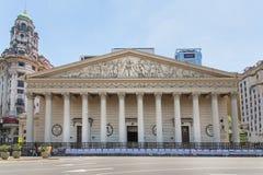 Catedral metropolitana en Buenos Aires, la Argentina fotos de archivo libres de regalías
