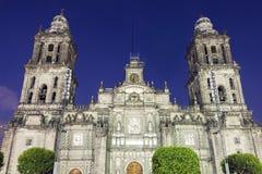 Catedral metropolitana en Ciudad de México imagenes de archivo