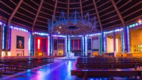 Catedral metropolitana en Liverpool, Reino Unido imagen de archivo