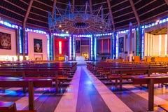 Catedral metropolitana en Liverpool, Reino Unido imagenes de archivo