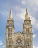 Catedral metropolitana Fortaleza el Brasil fotografía de archivo
