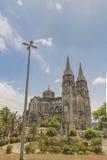Catedral metropolitana Fortaleza el Brasil fotos de archivo
