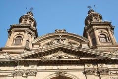 Catedral Metropolitana. Historic Catedral Metropolitana in the Plaza de Armas in Santiago, Chile Stock Photography