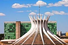 Catedral Metropolitana Nossa Senhora Aparecida Stock Image