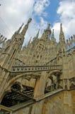 Catedral Milão Italy Imagens de Stock