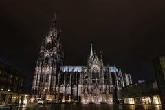 Catedral na água de Colônia Imagem de Stock Royalty Free