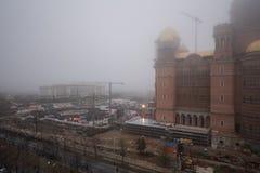 Catedral nacional de Romania's fotografía de archivo