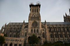 Catedral nacional en Washington DC foto de archivo