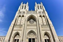 Catedral nacional, Washington DC, Estados Unidos imagens de stock