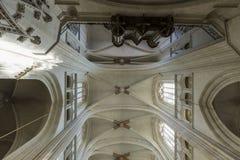 Catedral Nantes Imagen de archivo libre de regalías