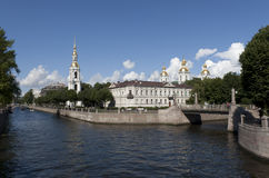 Catedral naval da catedral de Nicholas Fotos de Stock
