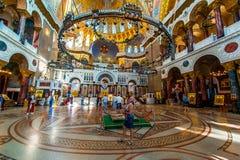 Catedral naval de Kronstadt Imagem de Stock Royalty Free