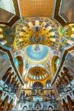 Catedral naval de Kronstadt fotografía de archivo libre de regalías