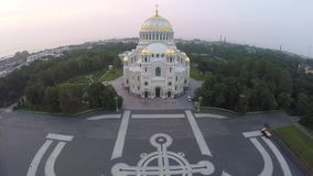 Catedral naval de Kronstadt metrajes