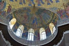 A catedral naval de São Nicolau o Wonderworker - las construídos Foto de Stock Royalty Free