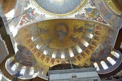 A catedral naval de São Nicolau o Wonderworker - las construídos Fotografia de Stock Royalty Free