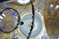 A catedral naval de São Nicolau o Wonderworker - las construídos Imagem de Stock